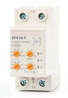 Household Self-resetting Over And Under Voltage Protection Relay ZPV36-T