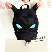 13 backpack school bag travel backpack cat casual double-shoulder women's handbag bags