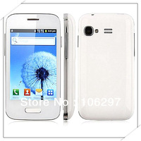 Hot 3.5 Inch mini S4 i9500 Capacitive Screen android smartphone cell phone Android 4.1.1 256M RAM SC6820 1.0GHz  Free ship