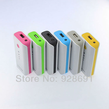 Portable 5600MAh USB External Mobile Battery Charger LED Power Bank Multi-Color
