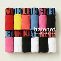 8 male boxer panties high quality 100% cotton panties letter chromophous