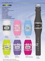 Model HK-0*: LCD watch with EL light in 100M water resistant