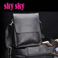 2012 New Arrived free shipping genuine leather men bag fashion men messenger bag bussiness bag SK110