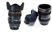 Free shipping  the 3th generation black fastness lens mug cup with Caniam LOGO