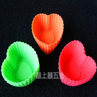 Sílica gel copo cavalo do amor molde do bolo em forma - círculo molde Pão(China (Mainland))