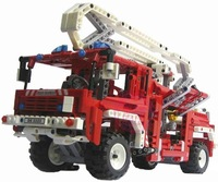Free shipping!Decool Fire Engine Exploiter series Building Block 1036pcs Educational Jigsaw Enlighten DIY toys for children 3323