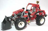 Free Shipping! Decool Educational 3330 DIY Exploiter Shovelcar 260PCS building Block Brick Toy,special plastic toy for children