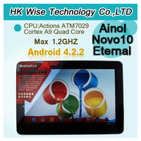 2013 new! 10.1 Inch  Ainol Novo10 Eternal Quad Core Android 4.2 Tablet PC ATM7029 2GB/16GB \John
