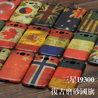 Phone case mobile phone case phone case  for SAMSUNG  i9300  9300 SAMSUNG flag phone case vintage