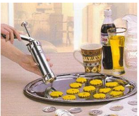 Diy baking tools household biscuit machine manual squeezer cookies biscuit mould set decorating