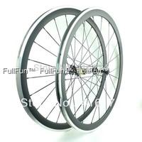 FULLFUN 38mm 20.5mm Alloy Braking Surface Carbon Wheelset 700C Clincher Road Bike 3K Matte Novatec 271/372 Hubs Aero Spokes