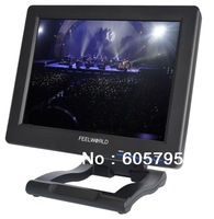 Free Shipping 2013 new model12.1 Inch 4:3 TFT LCD Monitor With DVI & HDMI Input, Touch Screen optional