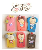 For samsung   note2 phone case cartoon n7100 silica gel protective case shell