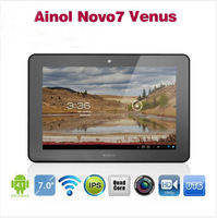 Ainol Novo7 Venus 7inch Quad core tablet pc IPS 1GB Ram 16GB ATM7029 1.5GHZ Android 4.1 HDMI Leather case free