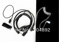 New Throat Vibration AirTube Earphone Mic for Kenwood Radio