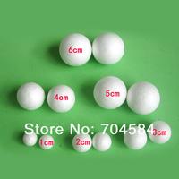 Free shipping wholesale 10cm natural white styrofoam round balls Craft ball foam ball diy handmade 12pcs/lot