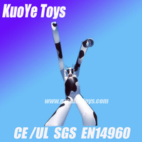 new inflatable cow sky dancer with 2pcs blower with free shipping