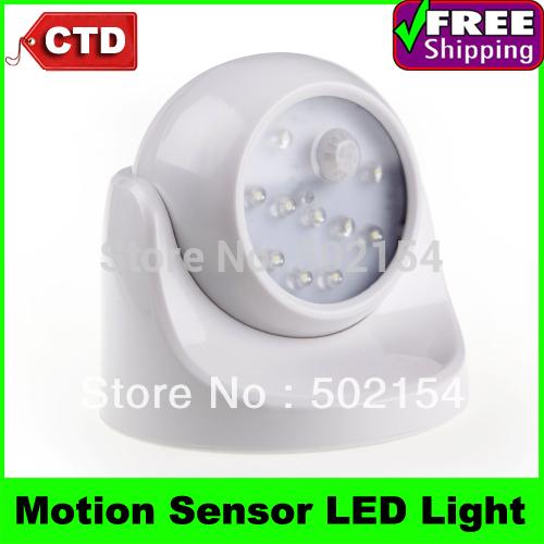 10 LED Light Lamp PIR Auto Sensor Motion Detector Light Motion Sensor Lights,(China (Mainland))