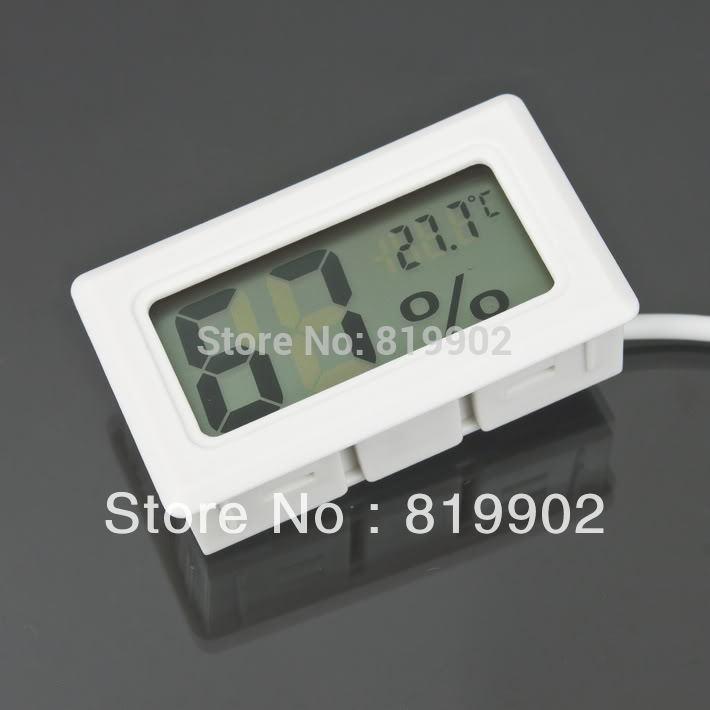 50pcs Factory Price Home Mini Digital Thermometer Humidity Temperature Hygrometer Meter LCD(China (Mainland))