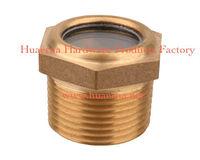 brass part threaded oil level indicators screwed type