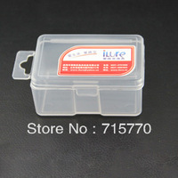 iLure Visible Plastic Fishing Box /Bait Box / Lure Box  7.0*4.5cm*3.3cm