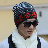 2013 hat male warm hat knitted hat autumn and winter knitted hat