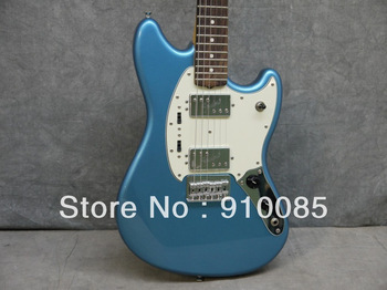 Wholesale 2013 Hot New Arrive Pawn Shop Mustang Special Electric Guitar Blue Free Shipping In Stock
