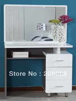 Bedroom furniture/Black&white style/dresser with mirror