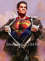 43 Superman Man of Steel 2013 movie 14''x19'' Inch Wallpapr Sticker Poster
