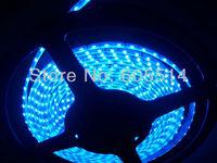 [Seven Neon]Free DHL shipping 20meters 335 IP65 waterproof 120leds/meter blue light side emmiting lighting LED Flexible Strip