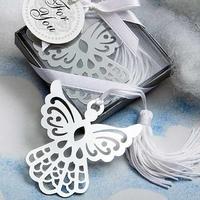 Free shipping Angel Cross Design Bookmark Favors White-Silk Tassel,wedding favor, baby shower gift,birthday party favors