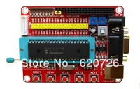 Microchip pic microcontroller minimum system development board PIC16F877A + USB CABLE
