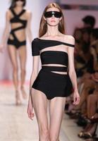 High Quality HL Bandage Bikinis Paris New Fashion Charming Swimwear Sexy Black Red Sexy Swimsuit
