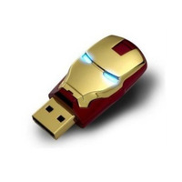 Free Shipping Wholesale NEW Genuine ironman model 2GB 4GB 8GB 16GB 32GB 2.0 Memory Stick USB Flash Drive