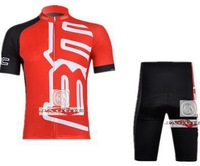 Free Shipping!!#3 2012 BMC RED short sleeve cycling jerseys wear clothes bicycle/bike/riding jerseys+pants shorts