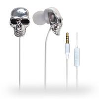 ULDUM unique design skull in-ear earphone for mobile phone