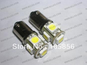 wholesales car led light  5smd ba9s 5050  3 chip ba9s h6w led car bulb freeshipping