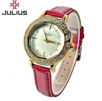 JA-631 New Design Free Shipping Julius Retro Watch Women Waterproof Luxury Gifts Watches 5Colors Can Choose Japan Movement