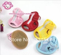 Free shipping new pet home interior slip shoes pet shoes dog shoes 4 color