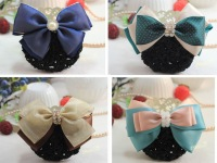 Mix Wholesales Hostess Clerk Hair accessory hairpin Ribbon bow Butterfly Hair Clip