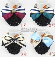 Hostess Hair accessory Ribbon bow Butterfly string bag navy style Hair Flower Hair Clip Hair pin