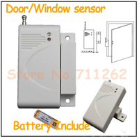315MHz/433MHz Wireless Door/window Magnetic Sensor for GSM Home security alarm systems