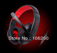 Free shipping senic g9 saurognathous headset computer game earphones for games two-color headphone studio