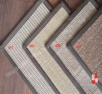 Natural sisal linen mat mats antechapel pad 40 60cm chromophous