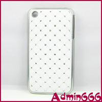 Cover For Iphone 3 3G 3GS New Multicolor Top Star Bling Stone Hard Rubber For Apple Iphone 3GS Case