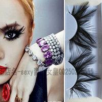 Fashion star style feather false eyelashes costumes ds lead dancer clothing