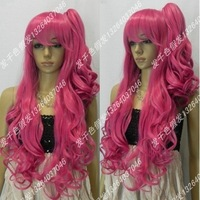Female Glamorous kanekalon Fiber Cosplay wig rose wig high temperature wire split type wig