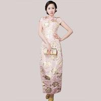2012 summer vintage short Pink of improved cheongsam qipao fashionable casual cotton cheongsam dress