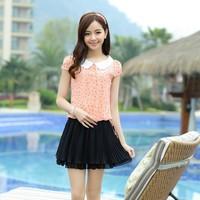 2013 summer multicolour 2026 dot one-piece dress