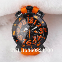 Gaga watch quartz unisex milano table popular big dial vibrant orange et153
